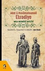Dara Yayınları - Adat u Rusumatnamee Ekradiye