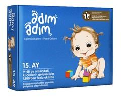 Adım Adım Bebek Eğitimi - Adım Adım 15. Ay Bebek Eğitim Seti