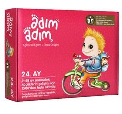 Adım Adım Bebek Eğitimi - Adım Adım 24. Ay Bebek Eğitim Seti