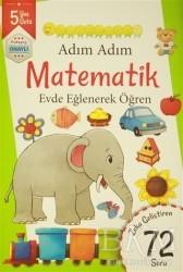 Revzen Kitap - Adım Adım Matematik 5 Yaş - Zeka Geliştiren 72 Soru