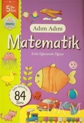 Revzen Kitap - Adım Adım Matematik 5 Yaş - Zeka Geliştiren 84 Soru