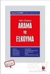 Adalet Yayınevi - Adli - Önleme: Arama ve Elkoyma