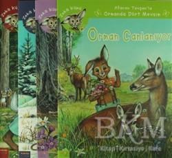 Kaknüs Yayınları - Afacan Tavşan'la Ormanda Dört Mevsim (4 Kitap Set)