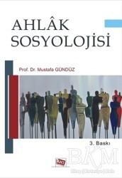 Anı Yayıncılık - Ahlak Sosyolojisi