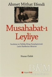 Hiperlink Yayınları - Ahmet Mithat Efendi - Musahabat-ı Leyliye