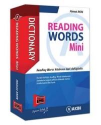 Yargı Yayınevi - Akın Reading Words Mini Cep Kitabı Yargı Yayınevi