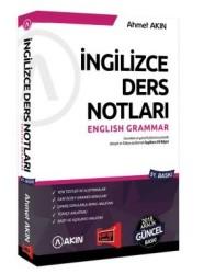 Yargı Yayınevi - Akın YDS İngilizce Ders Notları English Grammar Yargı Yayınevi