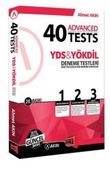 Yargı Yayınevi - AkınDil YDS YÖKDİL 40 Advanced Tests Yargı Yayınevi