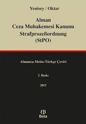 Beta Yayınevi - Alman Ceza Muhakemesi Kanunu StrafprozeBordnung (StPO)