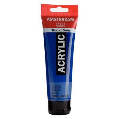 Amsterdam Akrilik Boya 120 Ml Phthalo Blue 570