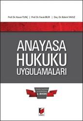Adalet Yayınevi - Ders Kitapları - Anayasa Hukuku Uygulamaları
