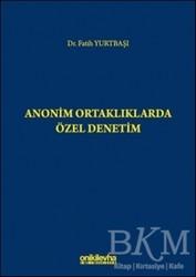 On İki Levha Yayınları - Anonim Ortaklıklarda Özel Denetim