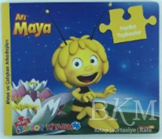 Arı Maya - Neşeli Yapboz Kitabım