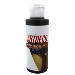 Artdeco - Artdeco Antik Eskitme Boyası 120ml Yağ Yeşili 634