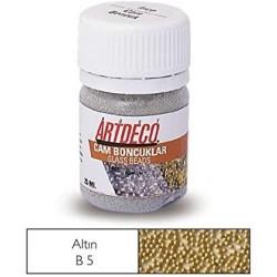 Artdeco - Artdeco Cam Boncuk 25ml Altın B5