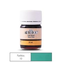 Artdeco - Artdeco Cam Boyası 25ml İnceltici Farblos 10