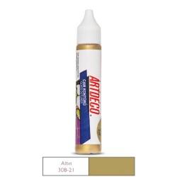 Artdeco - Artdeco Cam Kontürü 30ml Altın 21