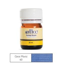 Artdeco - Artdeco Kumaş Boyası 25ml Gece Mavisi 60