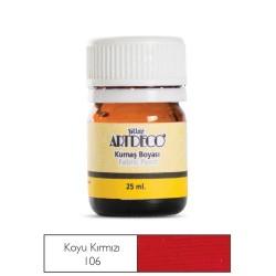 Artdeco - Artdeco Kumaş Boyası 25ml Koyu Kırmızı 106
