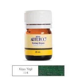 Artdeco - Artdeco Kumaş Boyası 25ml Koyu Yeşil 114