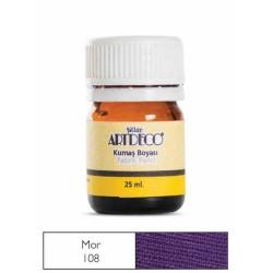 Artdeco - Artdeco Kumaş Boyası 25ml Mor 108