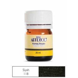 Artdeco - Artdeco Kumaş Boyası 25ml Siyah 118
