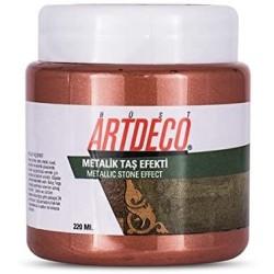 Artdeco - Artdeco Metalik Taş Efekti 220ml Bakır 2028