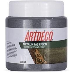 Artdeco - Artdeco Metalik Taş Efekti 220ml Gümüş 2022