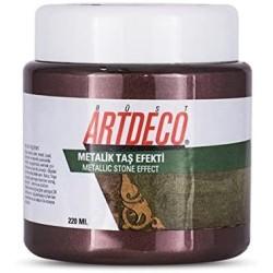 Artdeco - Artdeco Metalik Taş Efekti 220ml Patlıcan Moru 2008