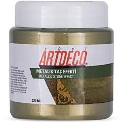 Artdeco - Artdeco Metalik Taş Efekti 220ml Şampanya 2016