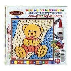 Artebella - Artebella Seramik Mozaik Set 20x20 Cm Ms-10