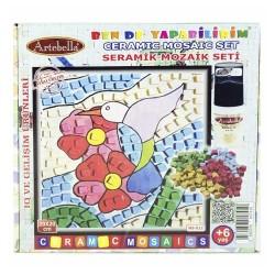 Artebella - Artebella Seramik Mozaik Set 20x20 Cm Ms-12