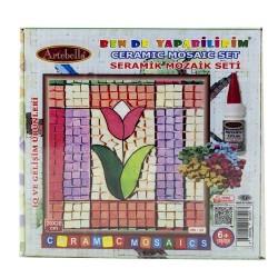 Artebella - Artebella Seramik Mozaik Set 20x20 Cm Ms-13