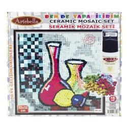 Artebella - Artebella Seramik Mozaik Set 32x32 Cm Cm-10