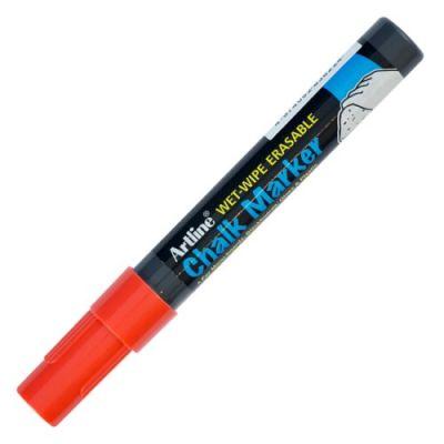 Artline Chalk Marker Tebeşir Markörü Uç 2.0mm Kırmızı