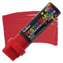 Artline - Artline Poster Markörü Uç 30.0mm Kırmızı