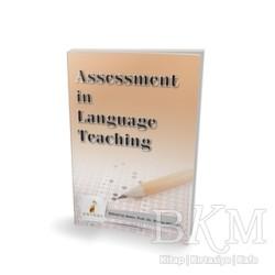 Pelikan Tıp Teknik Yayıncılık - Akademik - Assessment in Language Teaching