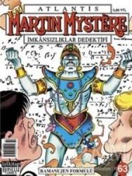 Lal Kitap - Atlantis Martin Mystere İmkansızlıklar Dedektifi Yeni Seri Sayı: 63 - Ramanujen Formülü