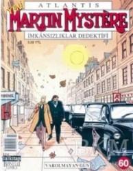 Lal Kitap - Atlantis Martin Mystere Yeni Seri Sayı: 60 Varolmayan Gün İmkansızlıklar Dedektifi