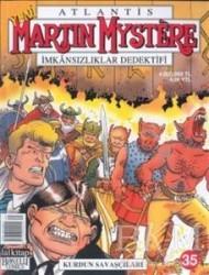 Lal Kitap - Atlantis Yeni Seri Sayı: 35 Martin Mystere İmkansızlıklar Dedektifi Kurdun Savaşçıları
