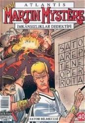 Lal Kitap - Atlantis Yeni Seri Sayı: 40 Martin Mystere İmkansızlıklar Dedektifi Sator Bilmecesi