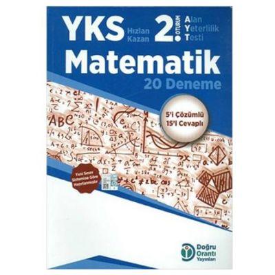 AYT 2.Oturum Matematik 20 Deneme Doğru Orantı Yayınları