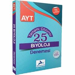 Prf Paraf Yayınları - AYT Biyoloji Tamamı Çözümlü 25 Denemesi Prf Paraf Yayınları