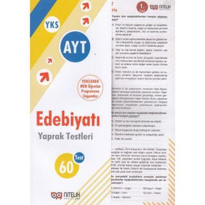 AYT Edebiyat 60 Yaprak Test Nitelik Yayınları