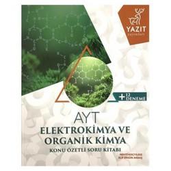 Yazıt Yayınları - AYT Elektrokimya ve Organik Kimya Soru Bankası Yazıt Yayınları