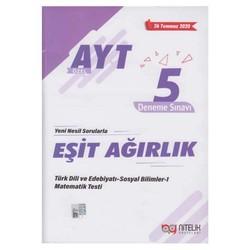 Nitelik Yayınları - AYT Eşit Ağırlık Özel 5 Deneme Sınavı Nitelik Yayınları