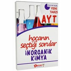 Dahi Adam Yayıncılık - AYT Hocanın Seçtiği Sorular İnorganik Kimya Soru Bankası Dahi Adam Yayınları