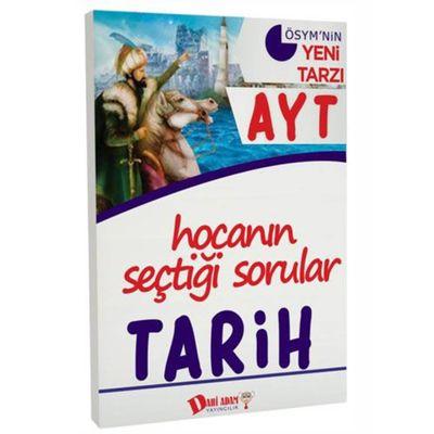 AYT Hocanın Seçtiği Sorular Tarih Soru Bankası Dahi Adam Yayınları