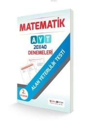 Farklı Sistem Yayınları - AYT Matematik 20x40 Denemeleri Farklı Sistem Yayınları