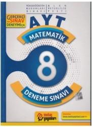 Metin Yayınları - AYT Matematik 8 Deneme Sınavı Metin Yayınları
